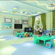 幼儿园教室桌椅摆放设计