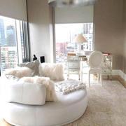 法式优雅型公寓客厅设计