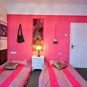 粉色小女生卧室设计