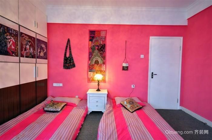 90后女生粉色系卧室装修效果图