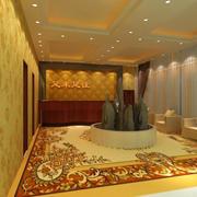 东南亚风格足浴店设计