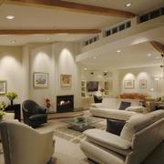 简约系洛可可客厅设计
