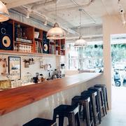 餐馆吧台优雅型设计