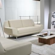 米白色曲美沙发设计