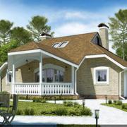 小型两层欧式小别墅设计