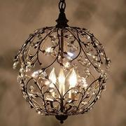 铁架圈式灯具设计