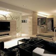 欧式典雅式玻璃墙设计