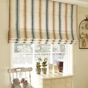 条纹式窗帘设计