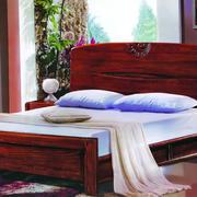 经典红木式样小床