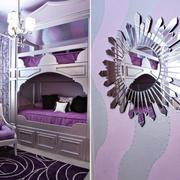 欧式50平米儿童床双层设计效果图