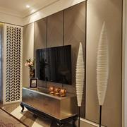 欧式大气典雅型电视墙设计