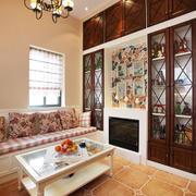 美式两厅户型装修设计效果