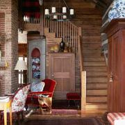 窄小型阁楼楼梯设计