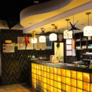茶餐厅吧台一角