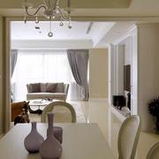 美式典雅型餐厅装修设计