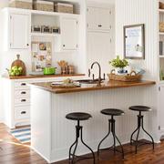 小户型清爽厨房设计效果图