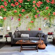 欧式小资型植物系类卧室壁纸