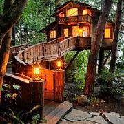 精美原生态式木屋设计
