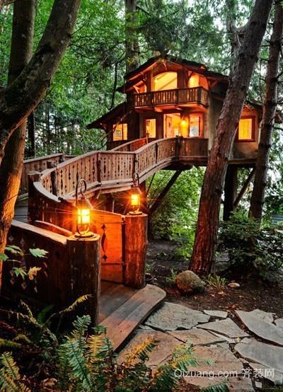 日式精美小木屋