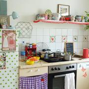 清新唯美型厨房设计