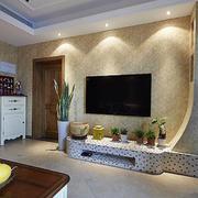 大理石客厅电视墙设计
