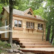 精简型小型木屋别墅设计