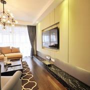 欧式大户型电视墙设计