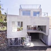 白色镂空型家居房设计