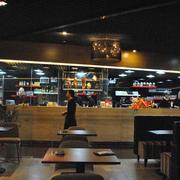 茶餐厅现代化欧式风设计