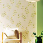 清新靓丽型卧室壁纸装修