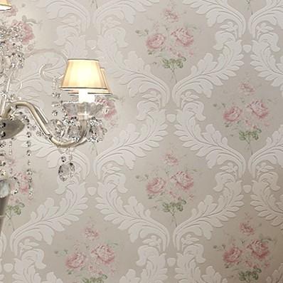 田園風格臥室壁紙裝修效果圖