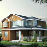 自建两层80平米小别墅
