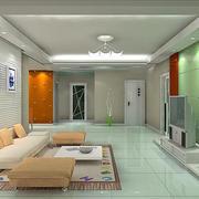 欧式精简型果绿色玻璃墙设计