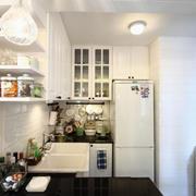 白色简约型厨房设计