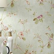 卧室藤条式样壁纸装修