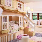 儿童房双层床设计
