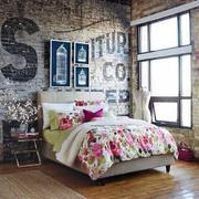 英伦风小卧室设计