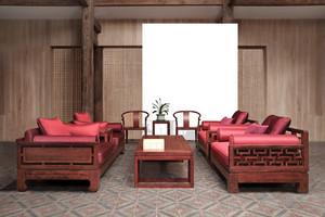 曲美家具沙发图片