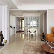 美式客厅玄关设计效果