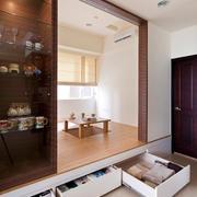 日式典雅型小户型榻榻米地台设计