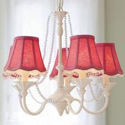 红色优雅型欧式灯具设计