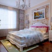欧式清新浪漫型小卧室