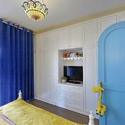 嵌入式卧室电视墙设计