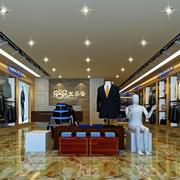欧式品牌女装店设计