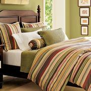 欧式席梦思式实木双人床