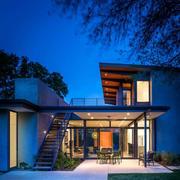 简欧跃层式别墅设计