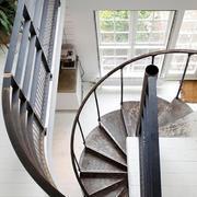 大户型欧式时尚精美型个性楼梯