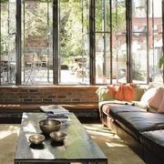 欧式精美型小型别墅客厅设计
