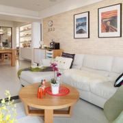 欧式单身小公寓客厅一角设计