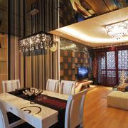 新古典地中海式客厅设计